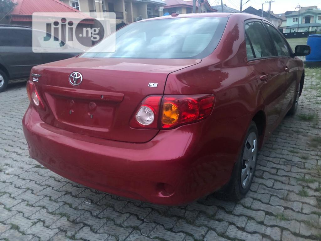 Archive: Toyota Corolla 2010 Red