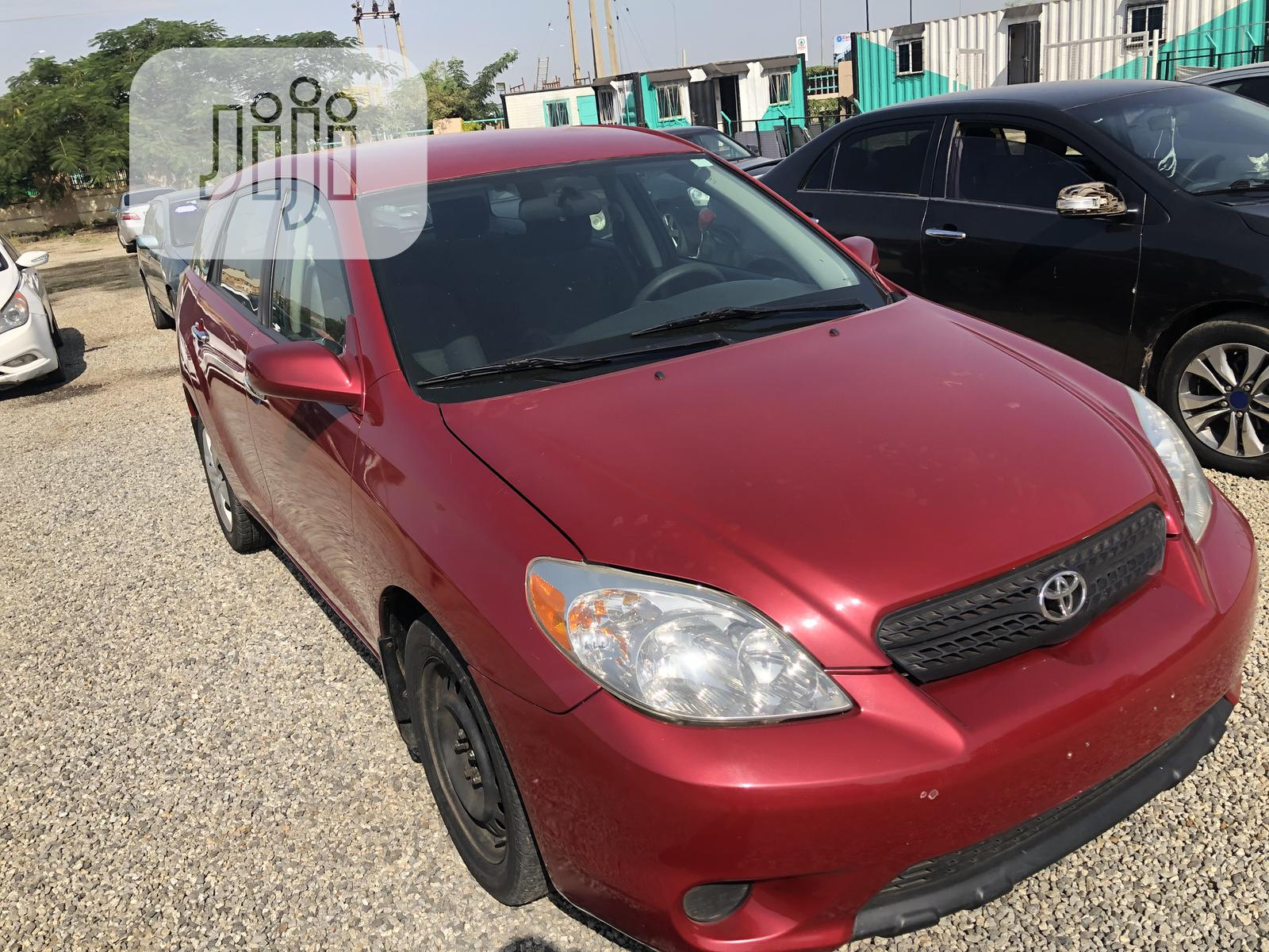 Toyota Matrix 2006 Red In Jabi Cars The Capital Company Jiji Ng For Sale In Jabi Buy Cars From The Capital Company On Jiji Ng