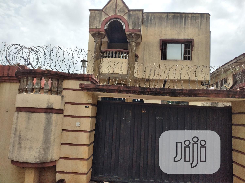 5bedroom Duplex + 1rm Bq At Off Adeyeri St, College Rd Ogba