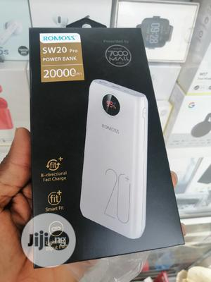 SW20 Pro Romoss Power Bank 20000mah Digital Led | Accessories for Mobile Phones & Tablets for sale in Lagos State, Ikeja