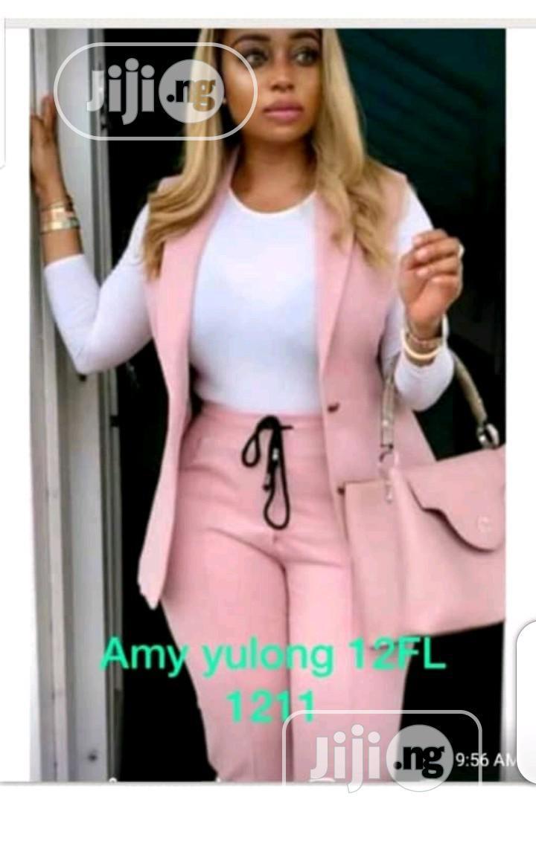 Two Pieces Ladies Suit. #V1