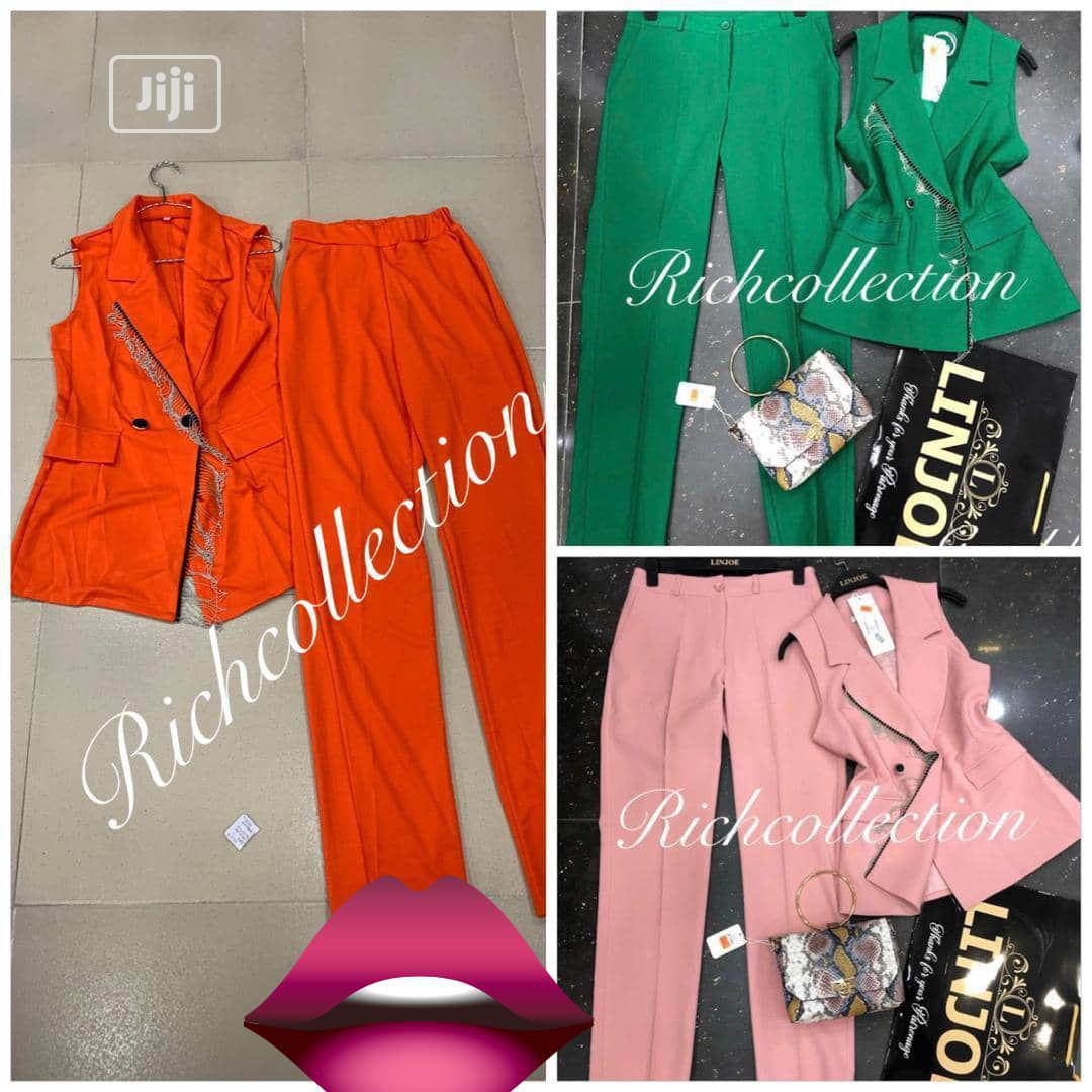 Two Pieces Ladies Suit. #V1   Clothing for sale in Alimosho, Lagos State, Nigeria