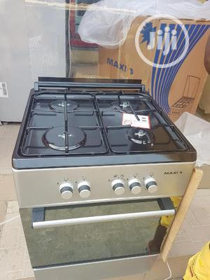Maxi Standing Cooker 4burner All Gas With Oven Auto Ignition | Kitchen Appliances for sale in Lagos State, Ojo