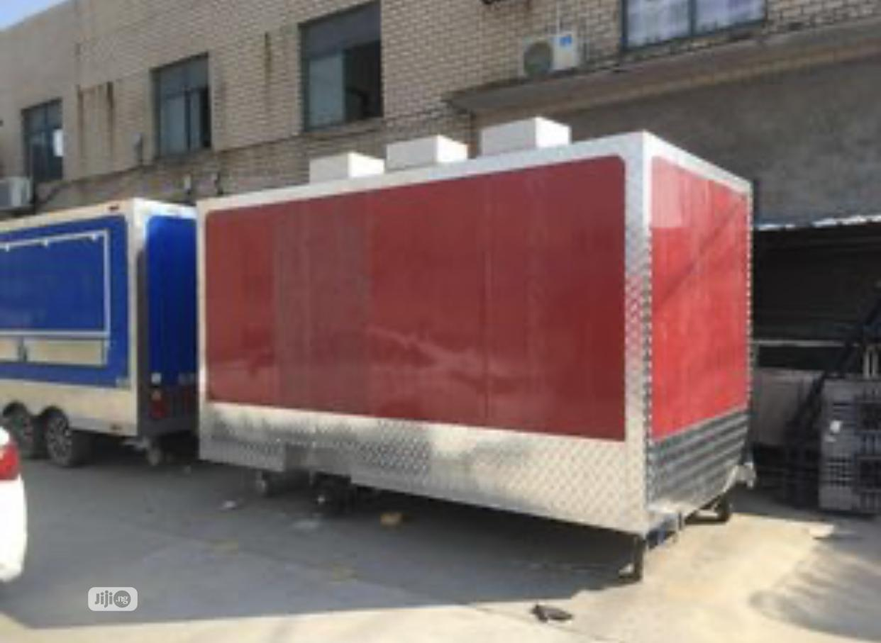 Mobile Kitchen Food Concession Trailer