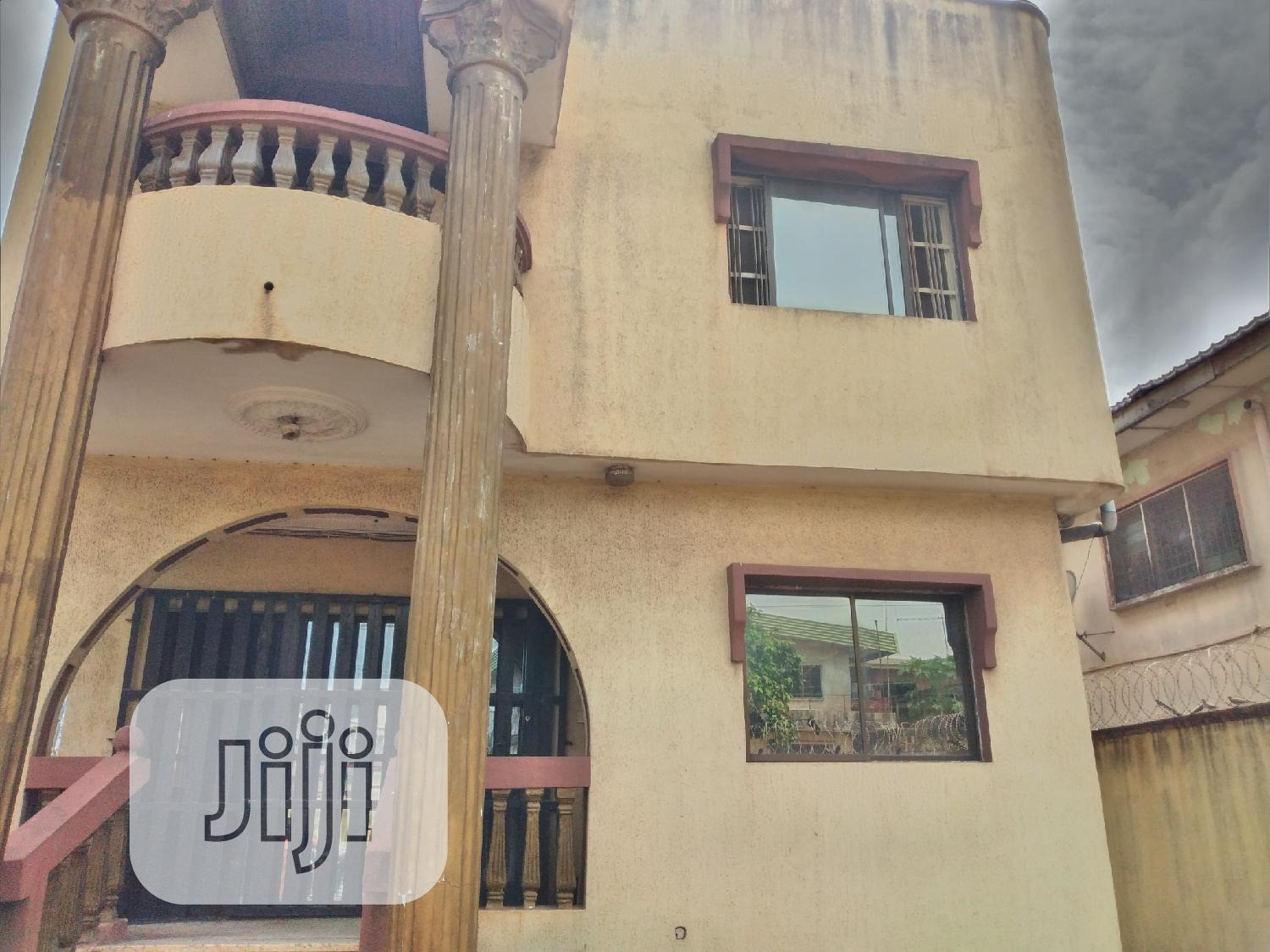 5bedroom Duplex + 1rm Bq At Off Adeyeri St, College Rd Ogba | Houses & Apartments For Rent for sale in Ogba, Lagos State, Nigeria