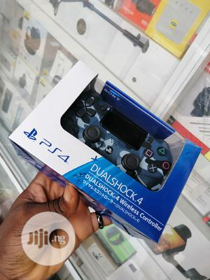 Ps4 Controller Blue Camou | Video Game Consoles for sale in Lagos State, Ikeja