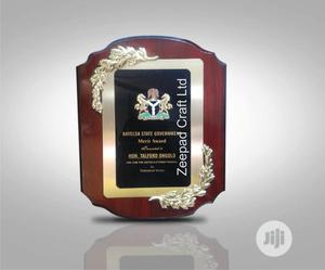 Awards Plaque Award Trophy Plaque Wholesale Crystal | Arts & Crafts for sale in Abuja (FCT) State, Central Business Dis