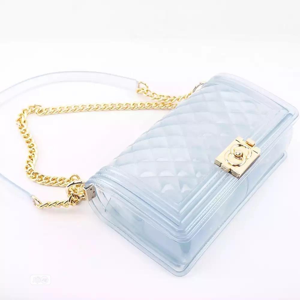 Women Transparent Mini Crossbody Bag