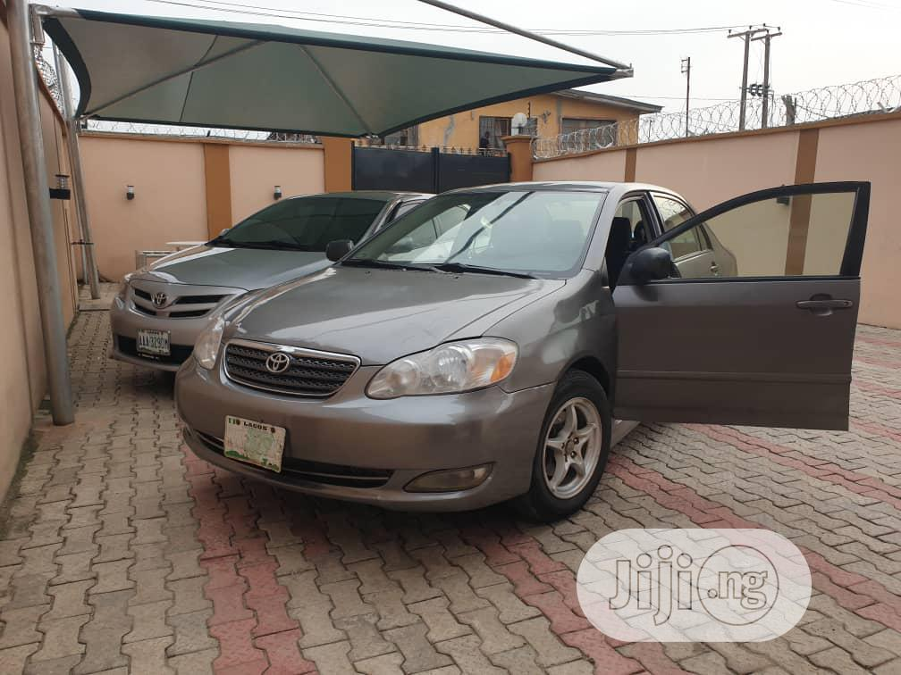 Toyota Corolla 2006 Le Gray In Agege Cars Adex Tayo Jiji Ng For Sale In Agege Buy Cars From Adex Tayo On Jiji Ng