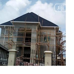 Stone Coated Roofing Sheet And Original Rain Gutter For Sale | Building Materials for sale in Lagos State, Ajah
