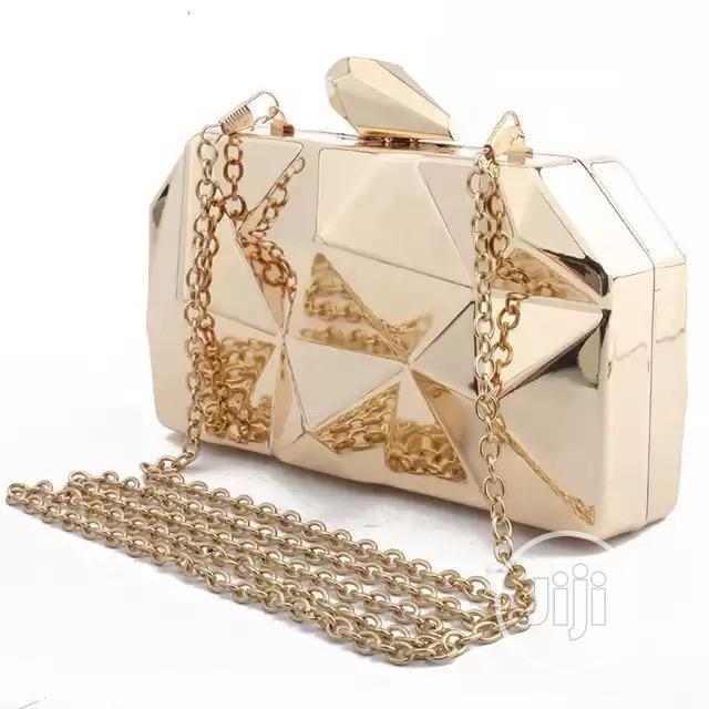 Women Metal Clutch Bag | Bags for sale in Lekki, Lagos State, Nigeria
