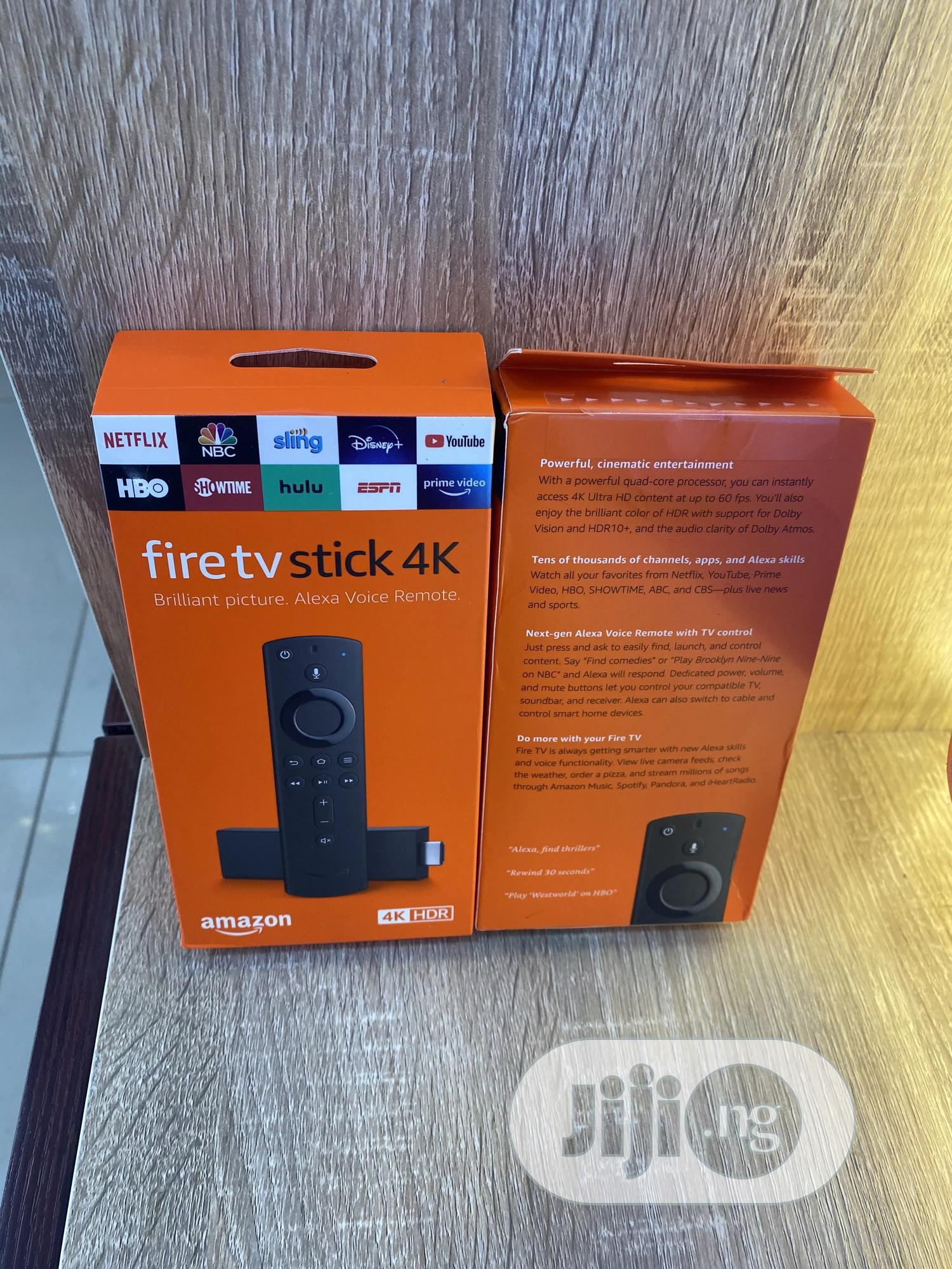 Fire Stick 4K | Accessories & Supplies for Electronics for sale in Wuse 2, Abuja (FCT) State, Nigeria