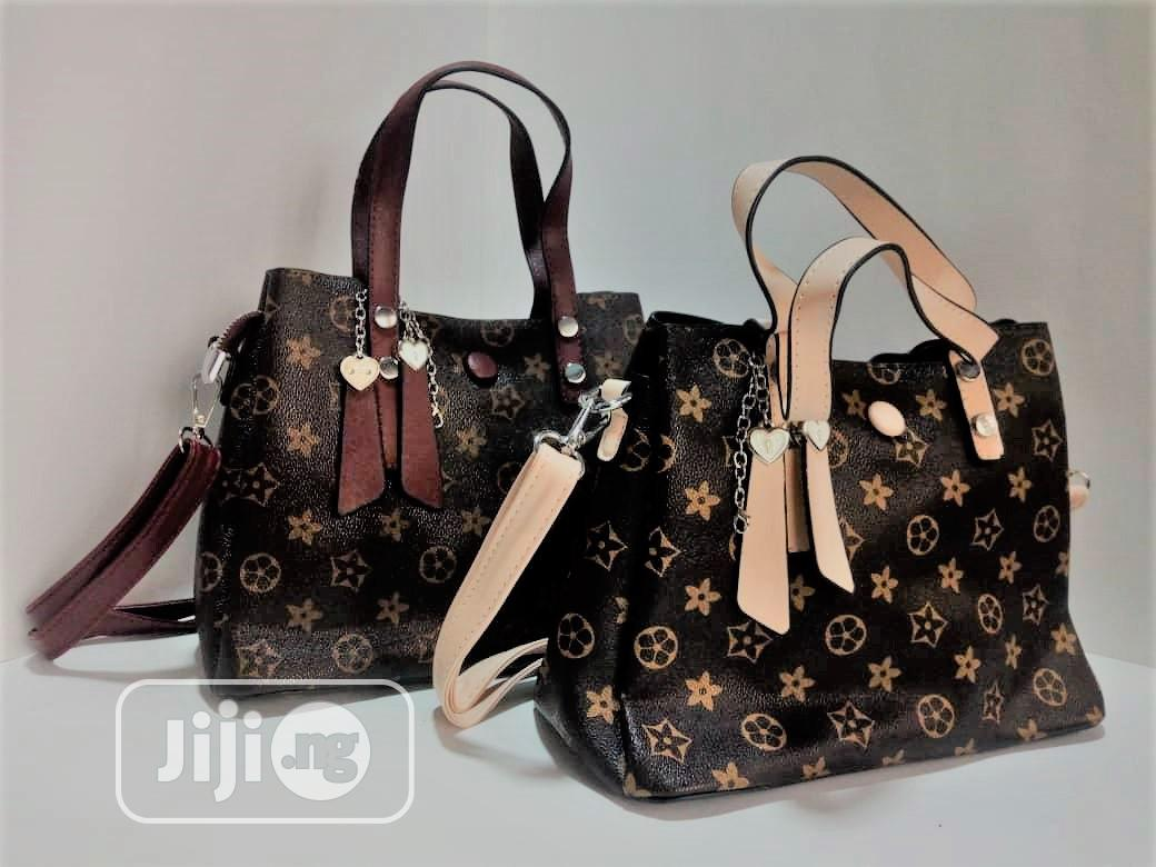 Fashionable Women Leather Tote Bag | Bags for sale in Lekki, Lagos State, Nigeria