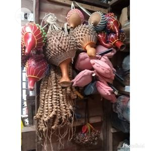 Local Tambourine,Local Udu Beater,Ijere For Leg Dance   Musical Instruments & Gear for sale in Lagos State, Ojo