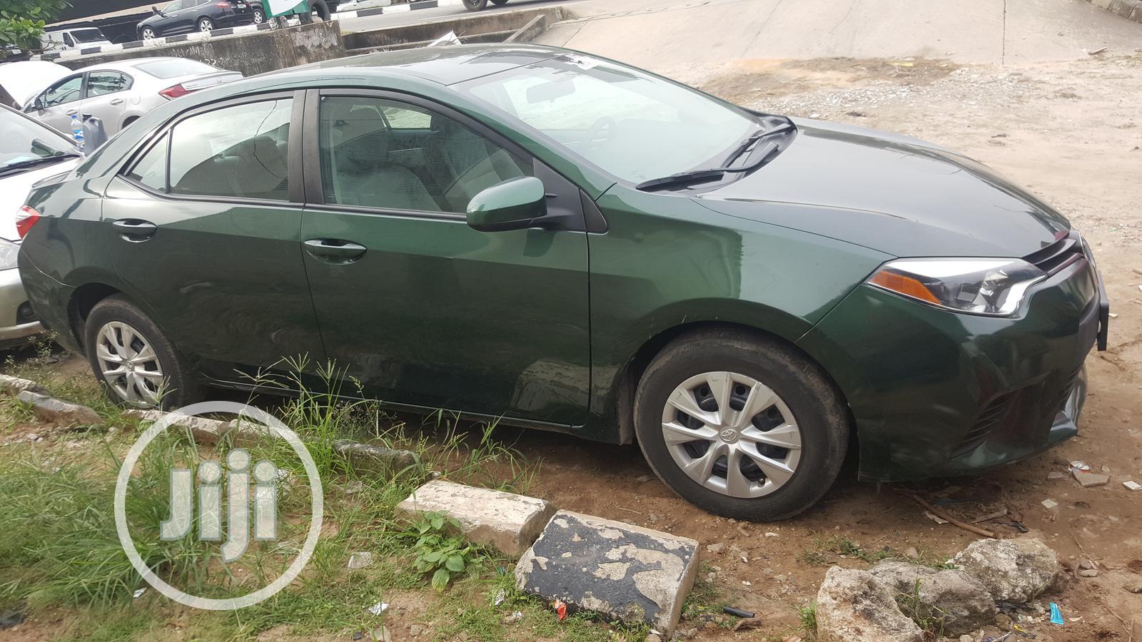 Toyota Corolla 2014 Green | Cars for sale in Ikoyi, Lagos State, Nigeria
