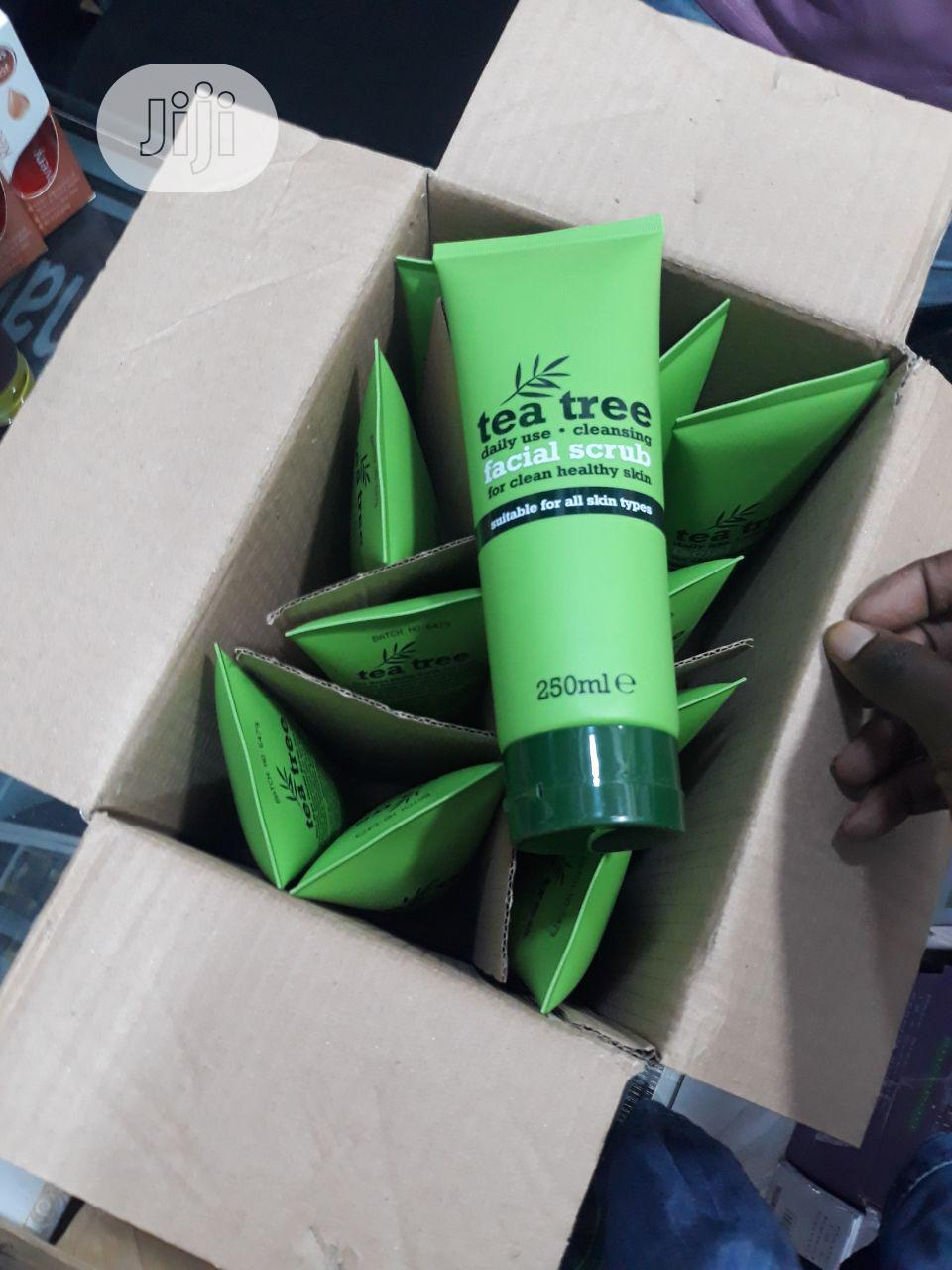 Tea Tree Facial Scrub ( Organic)#6 | Skin Care for sale in Alimosho, Lagos State, Nigeria