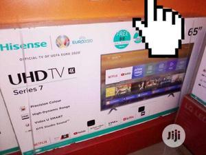 Original Hisense 65 Inches Smart   TV & DVD Equipment for sale in Lagos State, Ojo