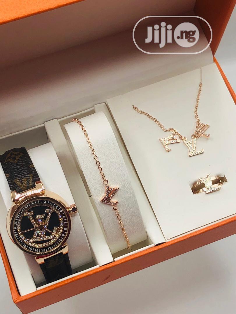 Original Louis Vuitton Wrist Watch In A Box