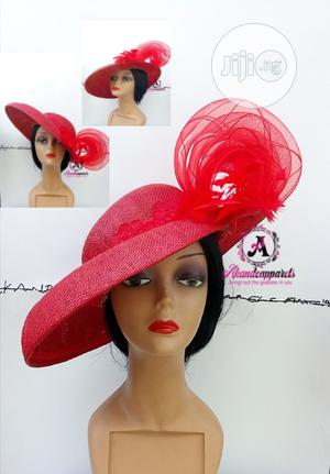 Red Beautiful Hat | Clothing Accessories for sale in Lagos State, Ikorodu