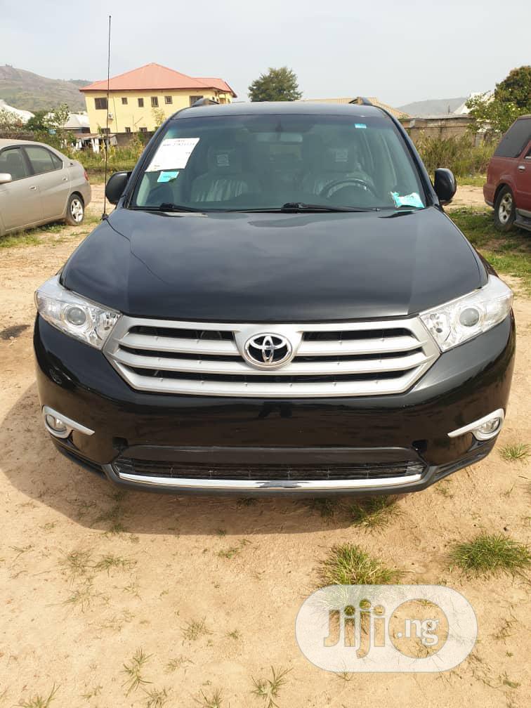 Toyota Highlander 2013 Black | Cars for sale in Kubwa, Abuja (FCT) State, Nigeria