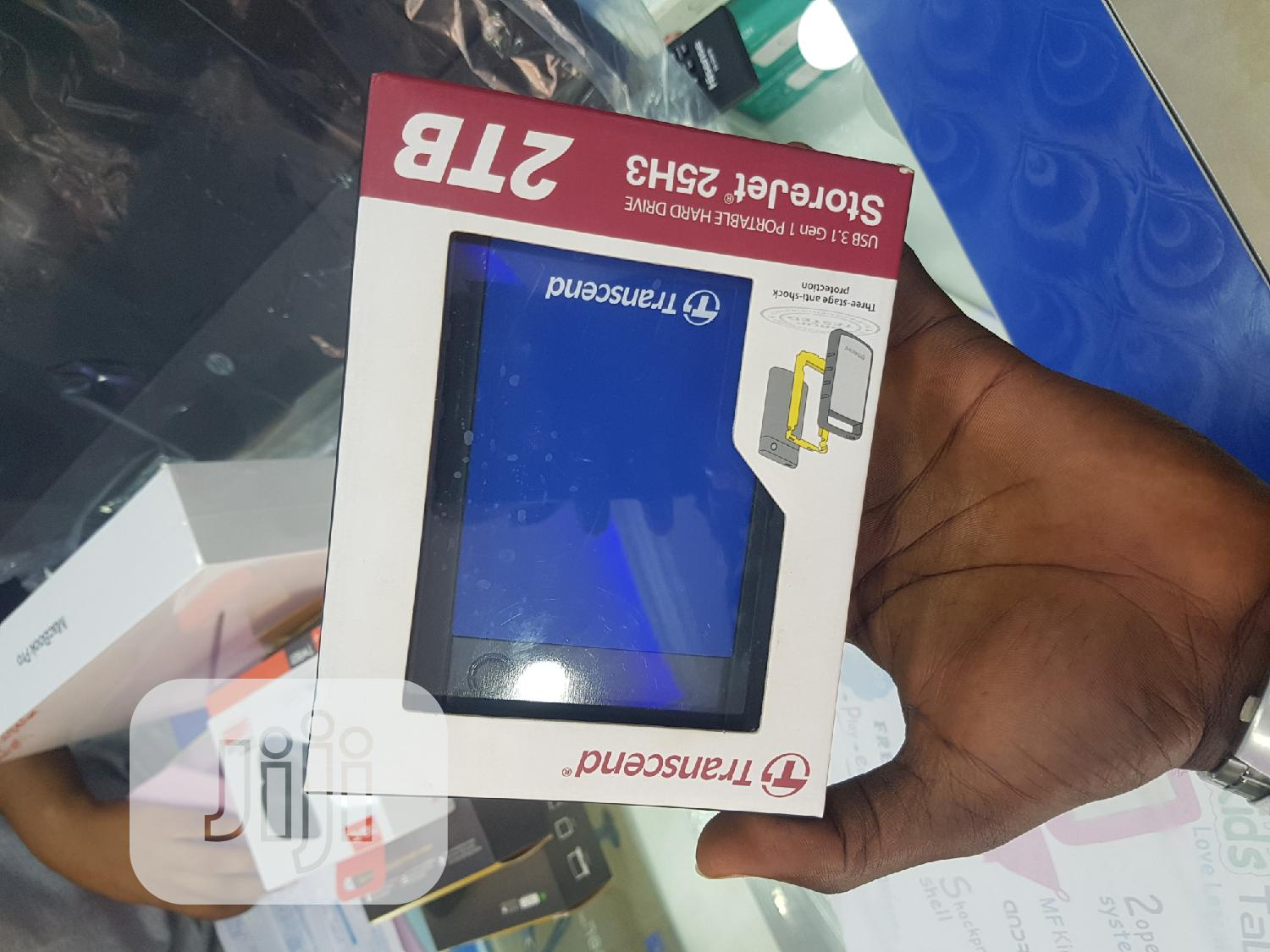 Brand New Transcend 2TB Hard Drive | Computer Hardware for sale in Wuse 2, Abuja (FCT) State, Nigeria