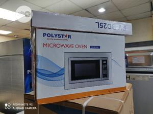 Polystar 25litre Built In Cabinet Microwave With Grill | Kitchen Appliances for sale in Lagos State, Ojo