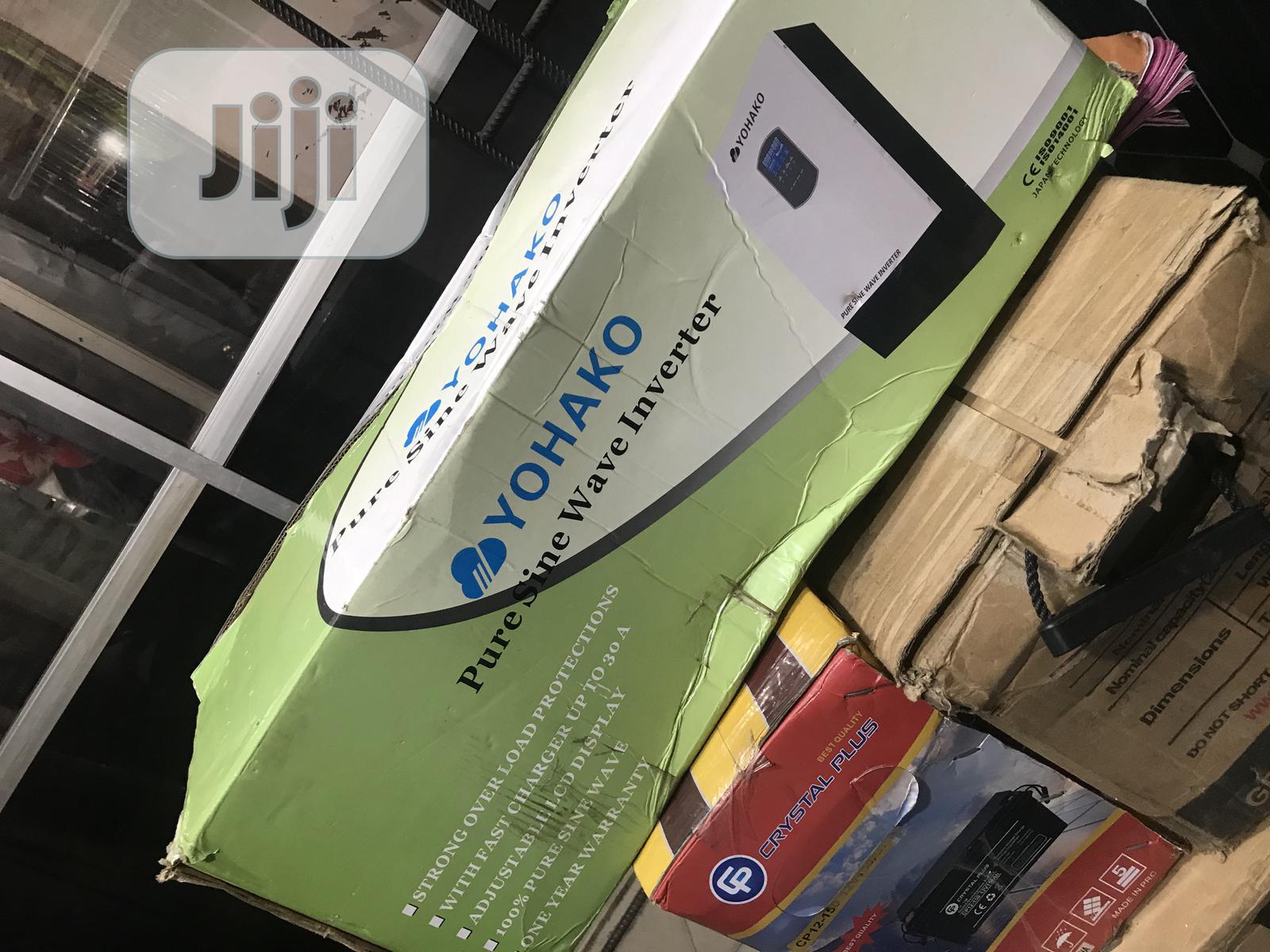 Yohako 2.5kva 24vos Inverter Available