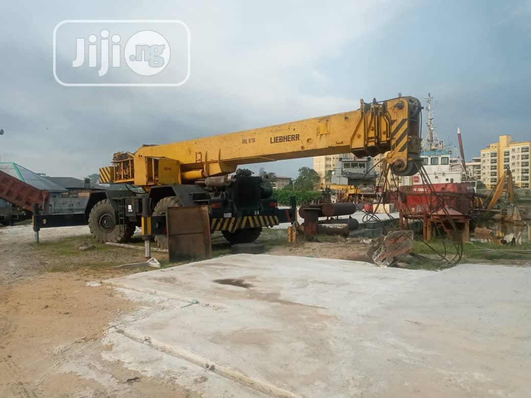 4 X 4 80tons Crane In Port-harcourt For Sale   Heavy Equipment for sale in Port-Harcourt, Rivers State, Nigeria