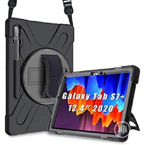 Defender Shockproof Protective Case For Galaxy Tab S7 Plus | Accessories for Mobile Phones & Tablets for sale in Lagos State, Ikeja