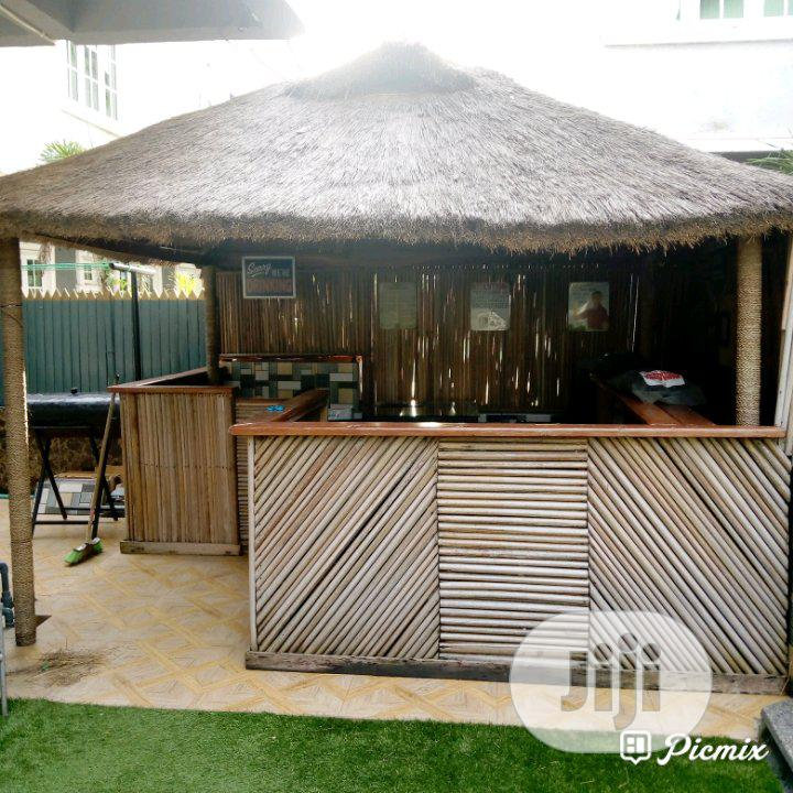 Lovely Gazebo Bush Bar Hut