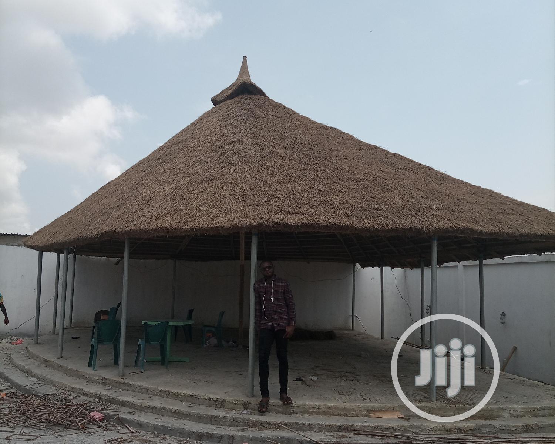 Lovely Gazebo Bush Bar Hut | Garden for sale in Isolo, Lagos State, Nigeria