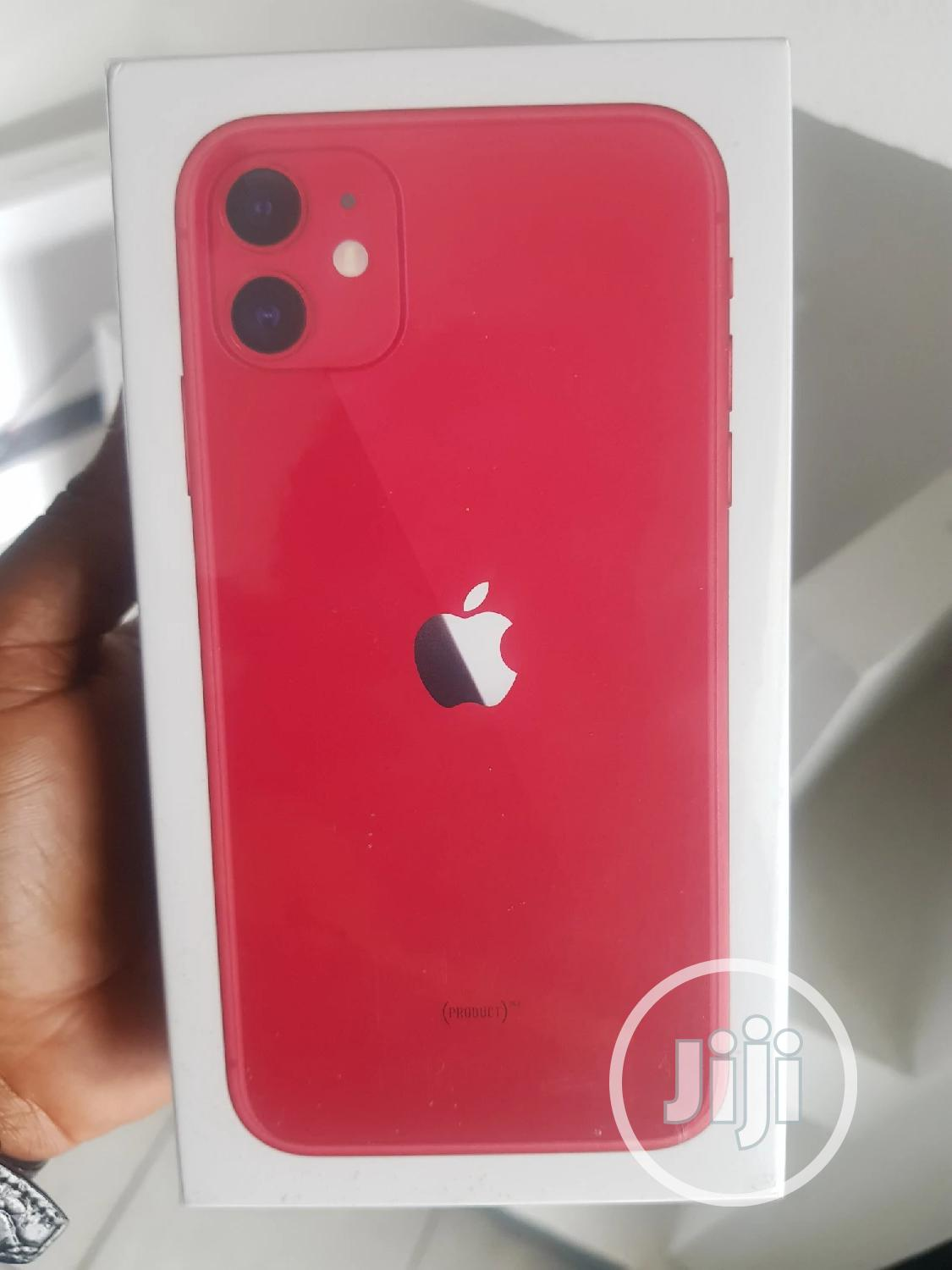 New Apple iPhone 11 128 GB Red | Mobile Phones for sale in Ikeja, Lagos State, Nigeria