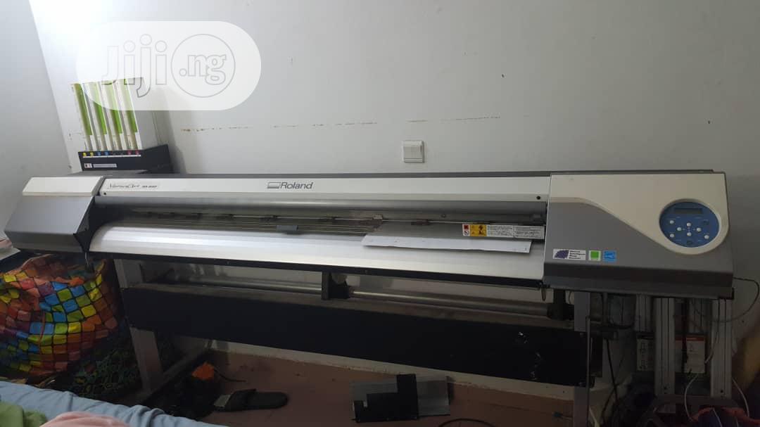 Archive: Roland Versaart RA-640 Printing Machine