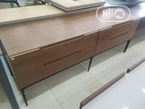 Quality Pure Wood Television Stand   Furniture for sale in Abuja (FCT) State, Wuse