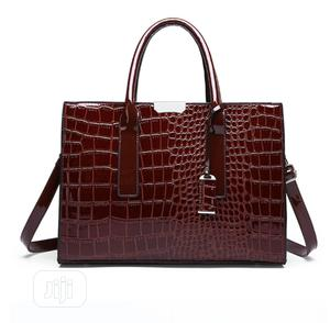 Women Crocodile Design Leather Handbag | Bags for sale in Lagos State, Lekki