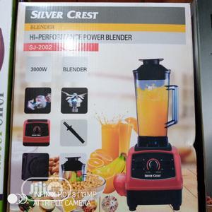 Silver Crest Commercial Blender 3000W   Kitchen Appliances for sale in Lagos State, Lagos Island (Eko)