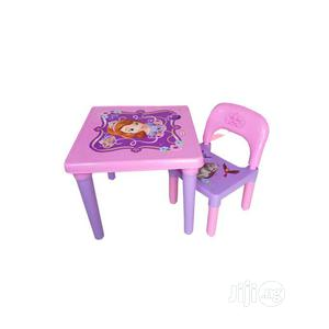 Plastic Table And Chair For Kids   Children's Furniture for sale in Lagos State, Lagos Island (Eko)