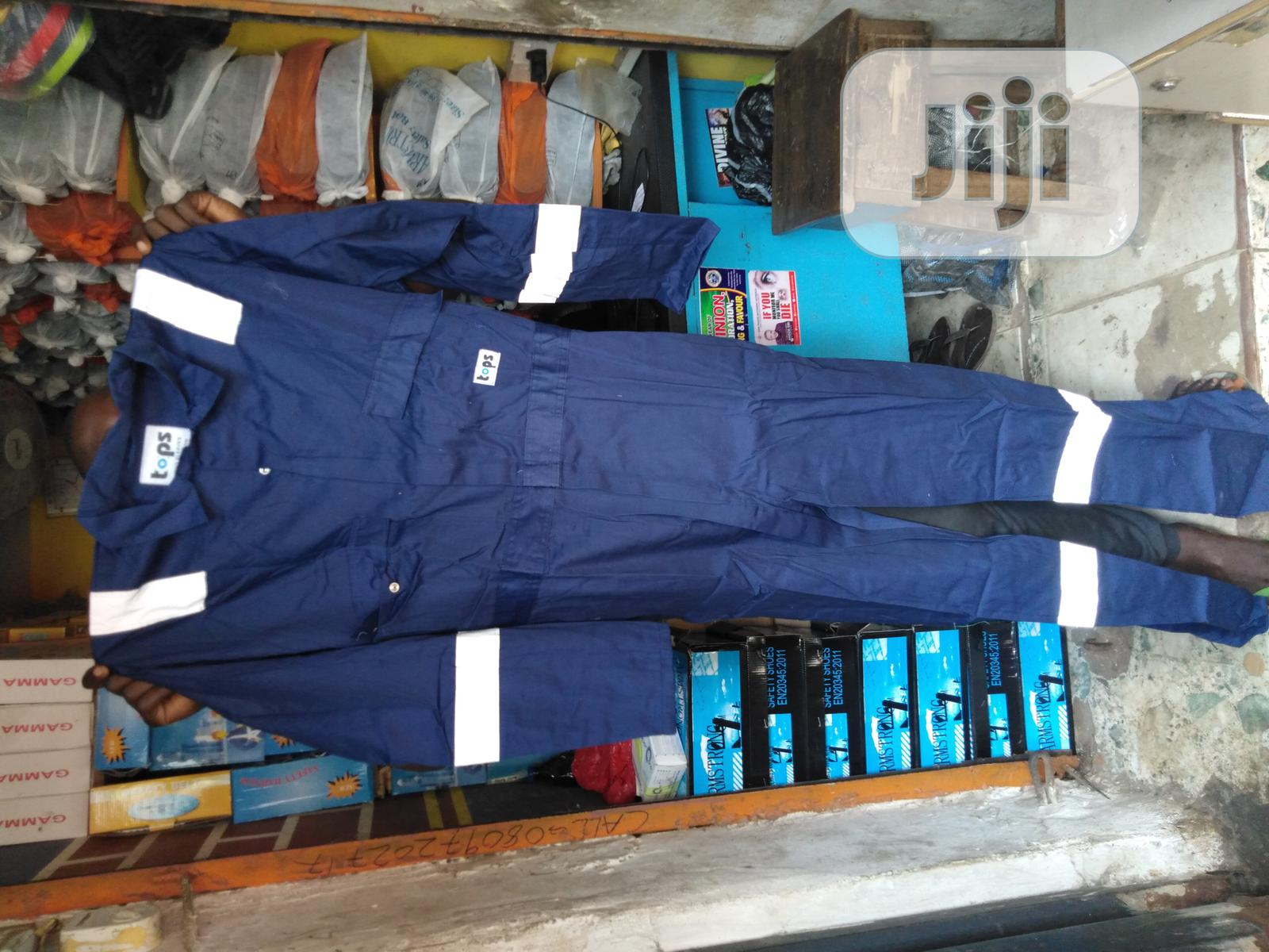 Safety Coverall With Reflective | Safetywear & Equipment for sale in Apapa, Lagos State, Nigeria