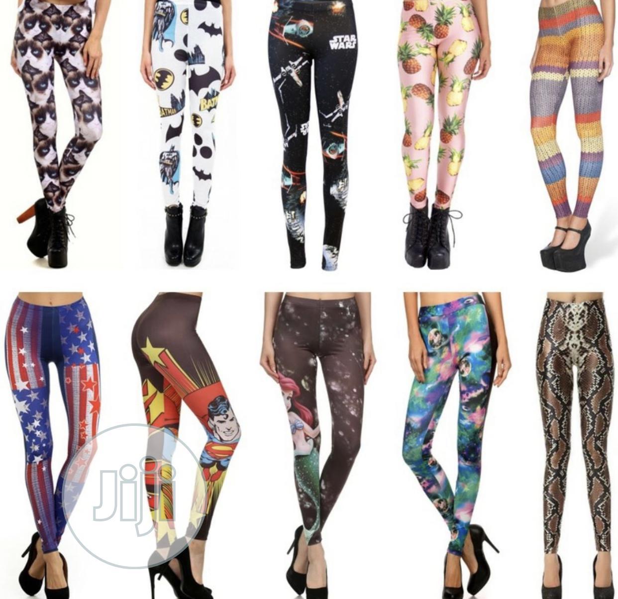 Trendy Vibrant Quality Leggings