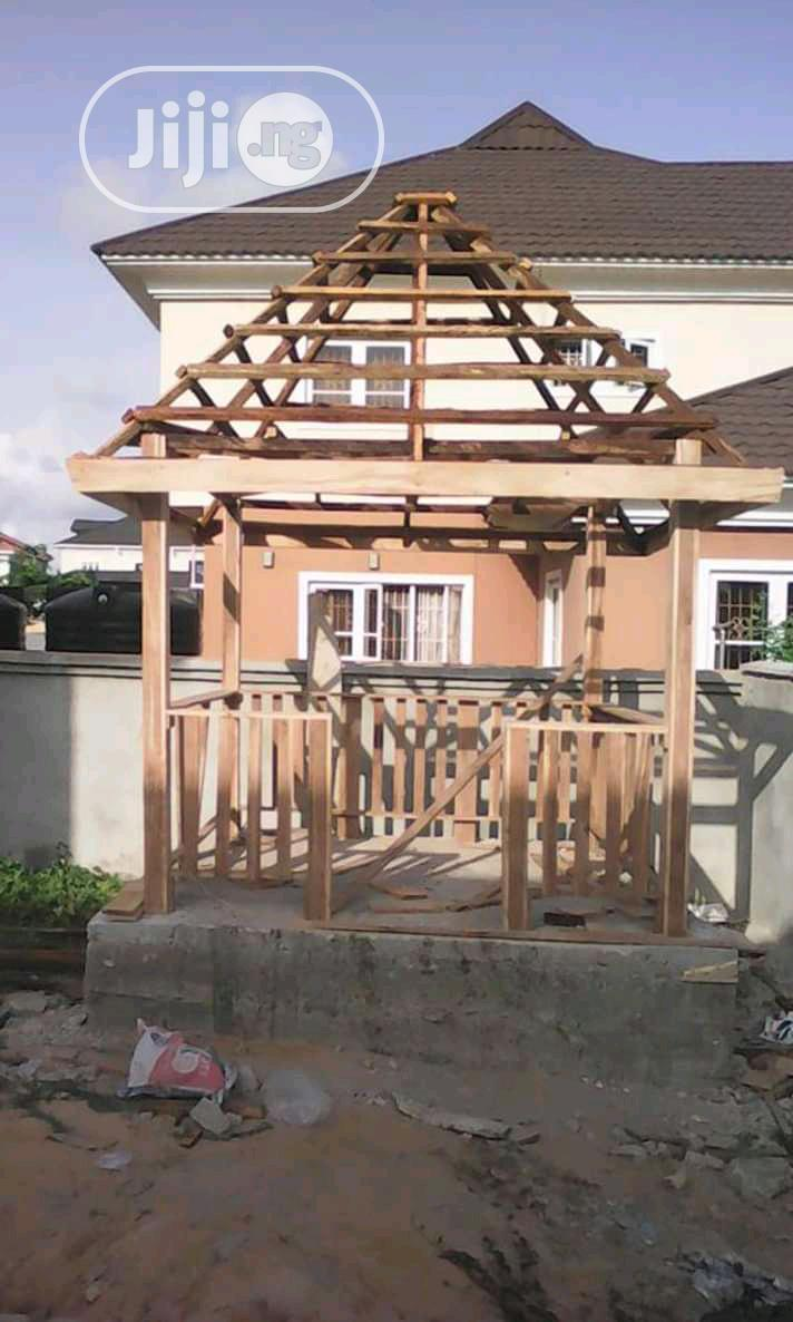 Gazebo Bush Bar Hut Gardens | Garden for sale in Egbe Idimu, Lagos State, Nigeria