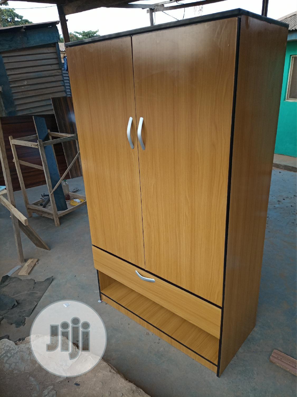 Standard Wardrobe With Shoe Rack   Furniture for sale in Ifako-Ijaiye, Lagos State, Nigeria