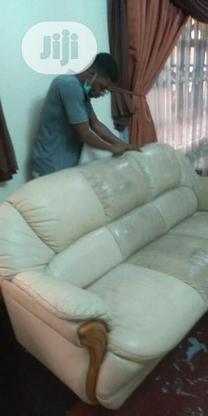 Leather Chair Upholstery Cleaning Service | Cleaning Services for sale in Lagos State, Ikeja