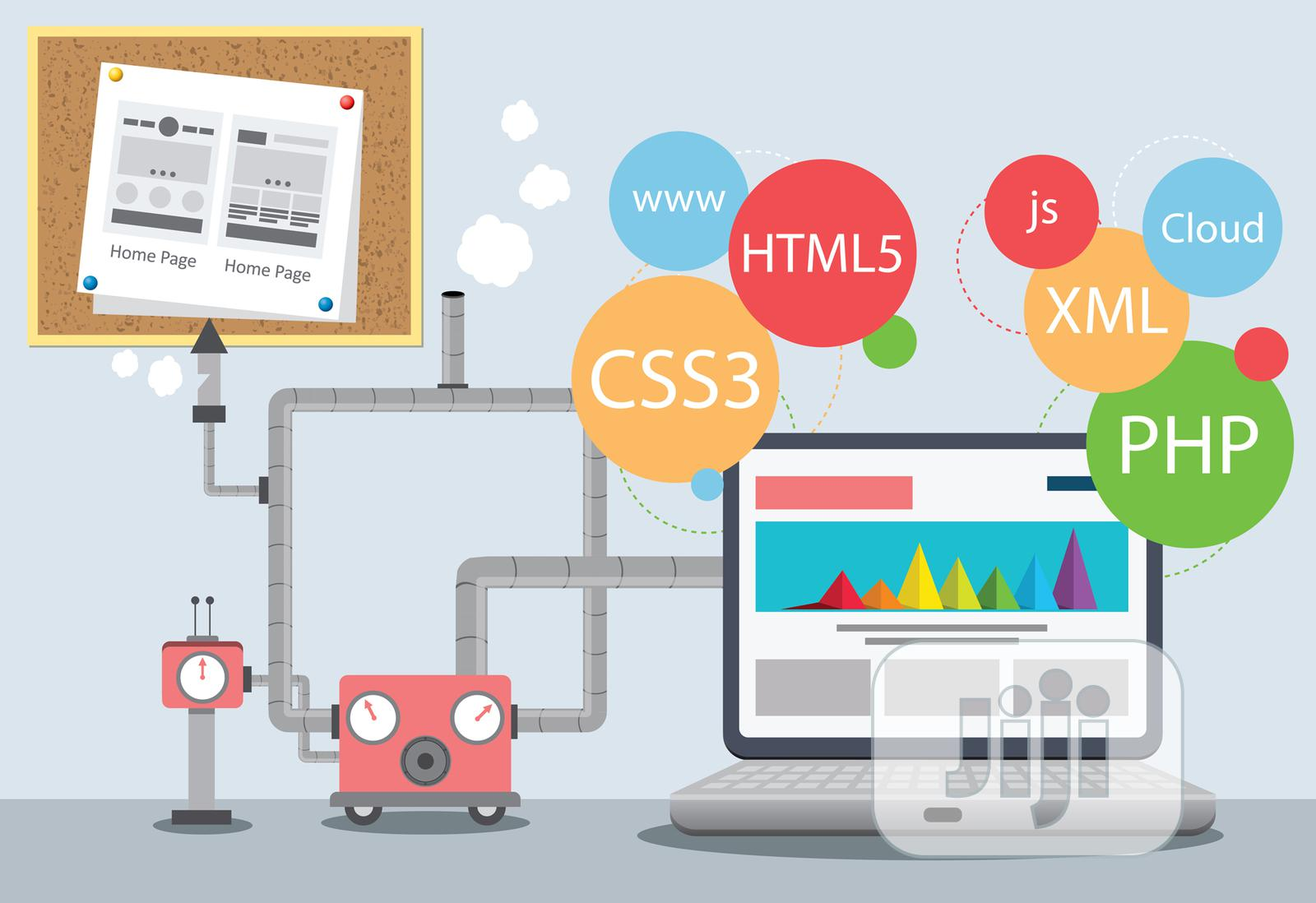 Website Design | Computer & IT Services for sale in Alimosho, Lagos State, Nigeria