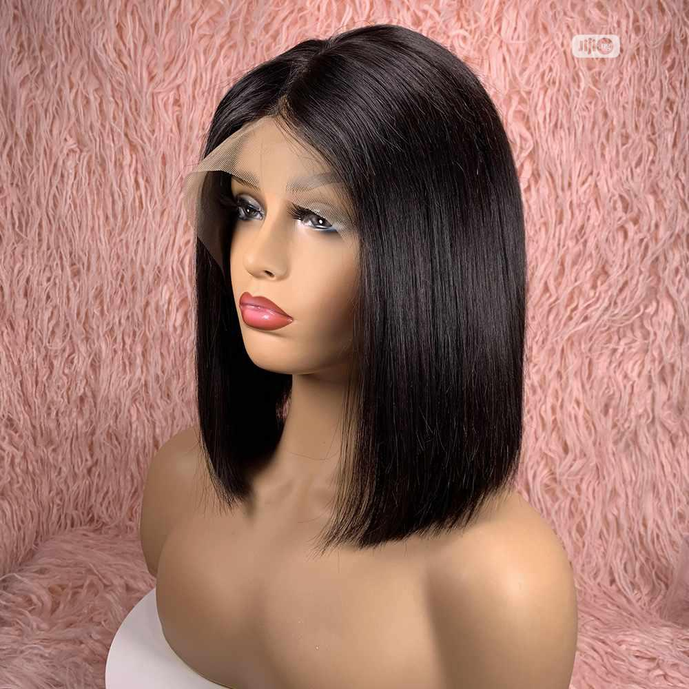 Silky Double Drawn Hair Wig(3 Bundle ➕ Closure)