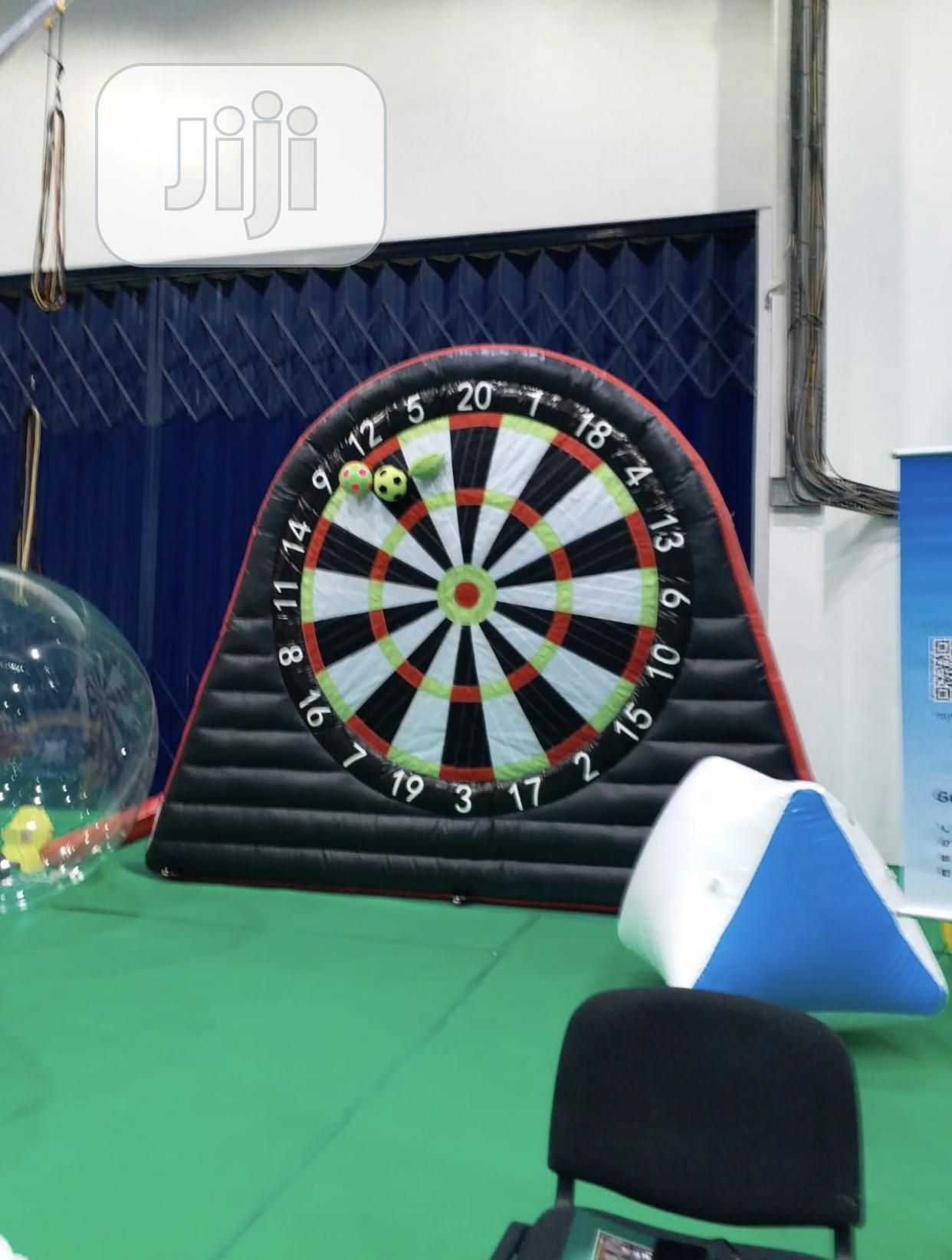 Archive: Inflatable Soccer Darts Board With Inflatable Ball