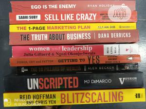 9 Collection Of Powerful Business And Self Development Book   Books & Games for sale in Lagos State, Yaba