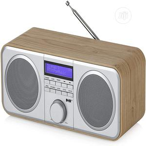 Akai A61037 Stereo DAB/DAB+/FM Digital Radio With LCD Displa   Audio & Music Equipment for sale in Lagos State, Ajah
