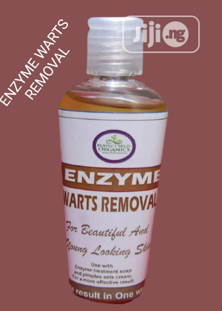Enzymes Wart Removal