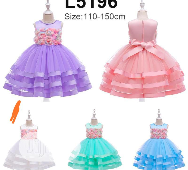 Little Princess (Girl) Dress #8) | Children's Clothing for sale in Alimosho, Lagos State, Nigeria