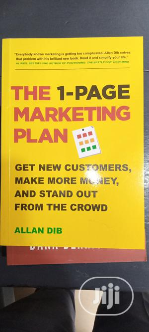 The 1-Page Marketing Plan   Books & Games for sale in Lagos State, Yaba
